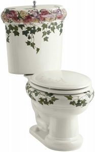 Kohler K-14239-PS-96 Peonies & Ivy design toilet review