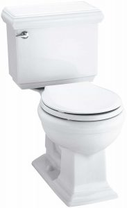 Kohler K-3986-0 Memoirs two-piece toilet review