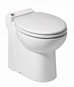 Saniflo Sanicompact flushing toilet