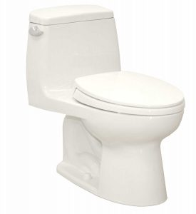 Toto MS854114SG Ultramax flushing toilet